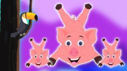 Пять маленьких поросенка | Дети Видео | Свинья Песня | Коллекция Рифмы | Five Little Piggies