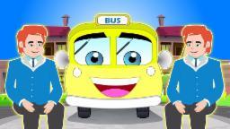 Колеса на автобусе | Рифмы Коллекция | Колеса рифмы |детского стишка | The Wheels On The Bus Song
