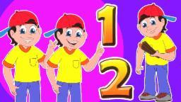 Один Два пряжка My башмак | Сборник для детей | Популярные потешки | One Two Buckle My shoe
