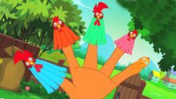 Петух палец семьи | потешки | песня для детей | Rooster Finger Family | Finger Family Rhyme & Song
