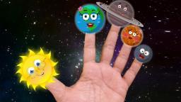 Планета Палец Семья | Мультфильм для детей | Учебное видео | детского стишка | Planet Finger Family