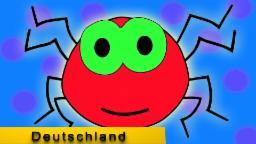 Incy Wincy Spinne|Kinderreime|Kindervers|Deutsch Kinderreim