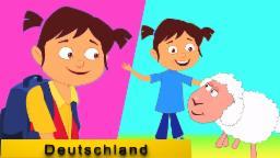Mary hatte ein kleines Lamm | Kinderreime | Deutsch Compilation