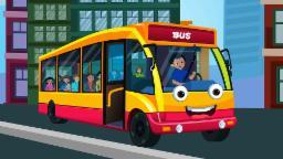 Ruedas en el autobús | Canción de cuna para los niños