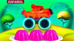 Caramelo Oso Camión Monstruo | Camión monstruo
