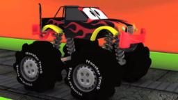 Monster camion | Lave-auto | Educational Kids Video | Learn Car Wash | Kids Truck | Monster truck