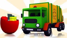 Oeufs surprises | Camion à ordures | enfants Véhicule | Kids Vehicle | Surprise Eggs | Garbage Truck