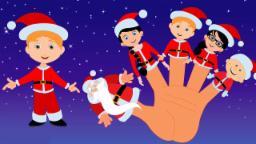 Famille du doigt du père noël | Chant de Noël | Christmas Song | Santa Clause Finger Family