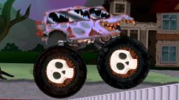 camion de monstre effrayant | Véhicules d'Halloween | Vidéos pour enfants | Scary Monster Truck