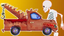 Camion de remorquage effrayant | apprendre véhicules | Kids Video | Scary Tow Truck