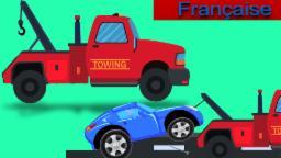 Tow Truck | rouge dépanneuse | Dépanneuse et réparations | Compilation