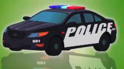 Voiture de police | Utilisations de véhicules de police | De compilation de vidéo Menus pour enfants
