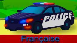 Voiture de police | déballer les jouets pour les enfants | La collection de jouets pour enfants