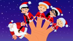 Babbo Natale dito famiglia | Natale canzone | natale jingle | Xmas Song | Santa Clause Finger Family