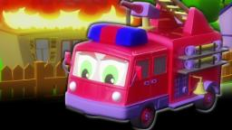 Fuoco camion Formazione e usi | educativi Video | 3D Kids Cartoon | Firetruck Formation and Uses