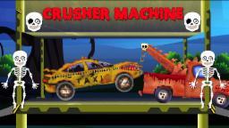 Taxi -pauroso Dump cantiere | Fumetto per capretti | Video Popolare bambini | Taxi - Scary Dump Yard