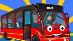 Ruote Rosse Sul bus | rime per i bambini