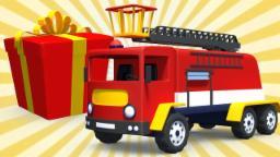 regalo camion dei pompieri | scartare il regalo per bambini | uova a sorpresa