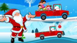 Caminhão do presente de Santa | Santa Caminhão | Feliz Natal | Video For Children | Santa Gift Truck