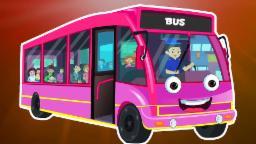 Rodas no ônibus | Cartoon for crianças | Vídeo Educativo | Popular berçário do rima