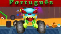 Assustador Garagem | Haunted House Monster Truck | episódio 4