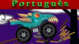 Caminhão Monstro assustador | Miúdos Vídeo | jogo do jogo
