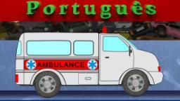 ambulância | despejar Quintal | Máquina Crusher | esmagando brinquedos para as crianças