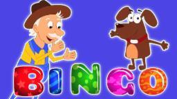 Бинго | Мультфильм для детей | Учебное видео | Популярная детского стишка