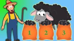 Baa Baa черные овцы | стишки для детей в России | Baa Baa Black Sheep Rhyme