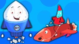Шалтай-Болтай сидел на стене | мультфильм для детей | Сборник | Популярная потешки