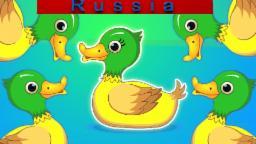 Пять маленьких уток | детские стишки и видео для детей в России | компиляцию