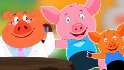 Пять маленьких Piggies | Потешки для детей