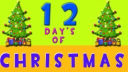 Zwölf Tage Weihnachten | Urlaub Lieder | Merry Christmas | Xmas Songs | Twelve Days of Christmas