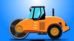 Straßenroller | Einsatz von Straßenwalzen | Kinder Videos | Road Roller Uses | Kids Vehicle Videos