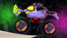 Furchtsames Monster-LKW | LKW für Kinder | Sammlung | Stunts Video |  Scary Monster Truck