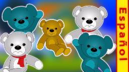 Diez En La Cama | De dibujos animados para los niños | video educativo | Compilación