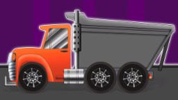 Formation benne camions et utilisations | Véhicules pour enfants | Dumpster Truck Formation and Uses