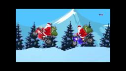 Père Noël Bike Race | Course de vélo pour les enfants | Vidéo de Noël | Santa Claus Bike Race