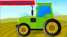 vidéo du tracteur pour les enfants | utilise du tracteur | apprendre tracteur