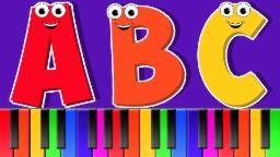 ABC Canção | Desenhos animados para caçoa | educativo vídeo  | Popular berçário da rima