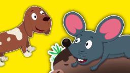 música som animais | crianças rimas em português | Animal Sound Song