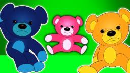 Dez na cama | Cartoon for crianças | Vídeo Educativo | Popular berçário do rima | Ten In The Bed