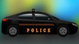 Полиция автомобилей | Автомойка | образовательных видео | Car Wash | Educational video | Police Car