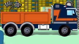 загрузка грузовик | гаража автомобиль | дети видео | Car Garage | Kids Video | Loading Truck