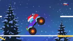 Jeep монстр грузовик Рождество грузовик | Образовательное видео | Jeep Monster Truck Christmas Truck