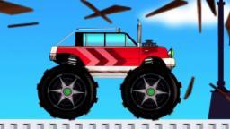 монстр грузовик | автомобиль мультфильм | Видео для детей | Monster Truck | Formation & Uses