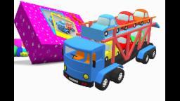 Spielzeugkiste | Autotransporter LKW