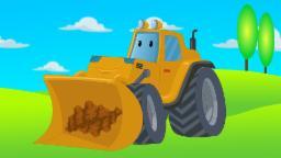dessin animé pour enfants | Bulldozer