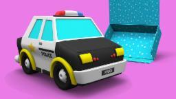 Coffret Cadeau | Voiture de police