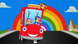 Wheels On the Bus | Nursery Rhymes